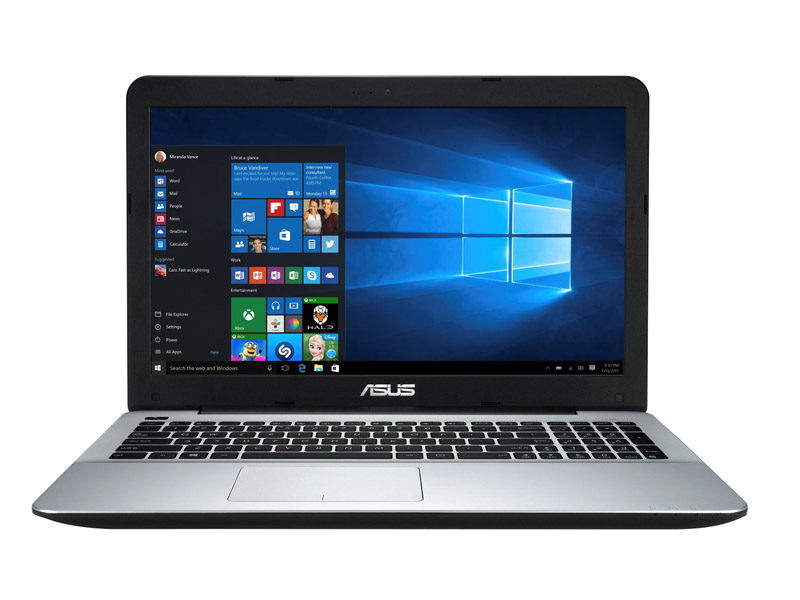 Ordinateur portable 15,6 ASUS X555BP-XX246T black silver