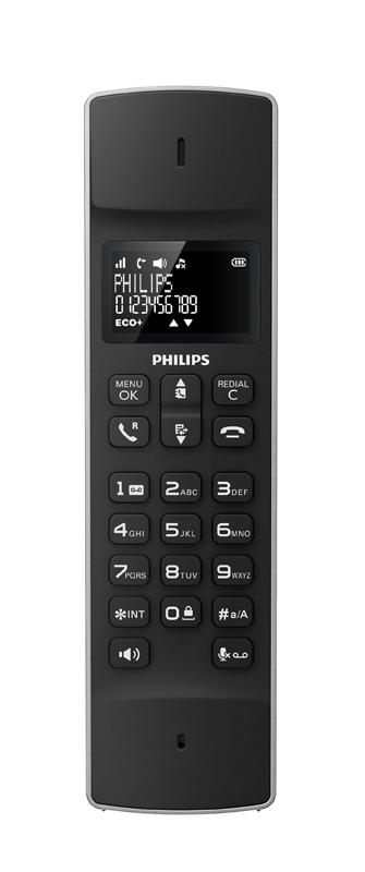 Telephone Repondeur PHILIPS Solo Linea Noir