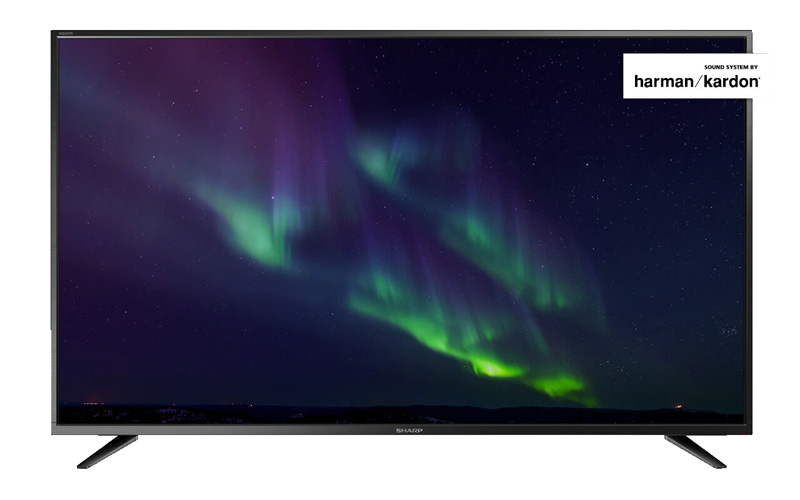 TV UHD 4K SHARP LC-49CUG8052E