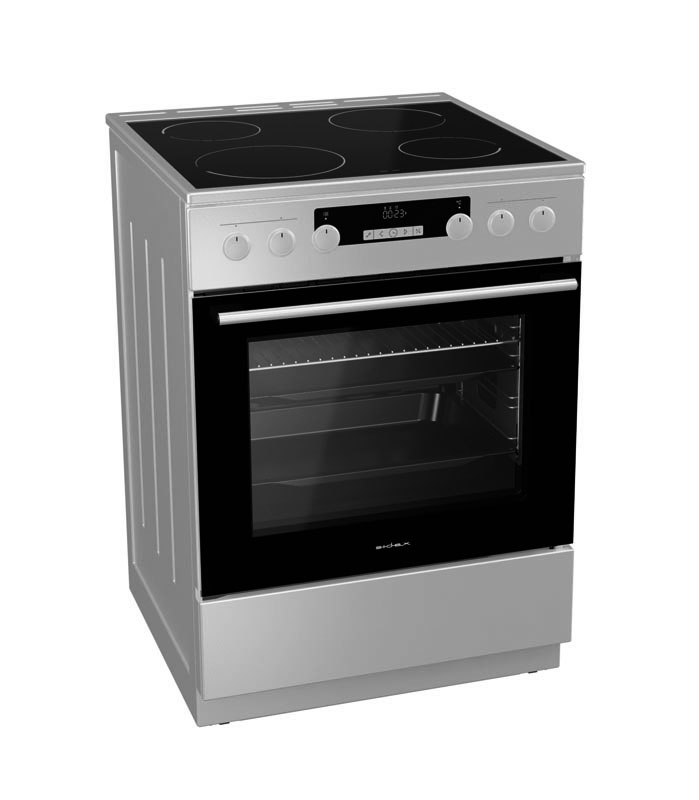 Cuisinière vitroceramique SIDEX SEC 63 MF2X (photo)