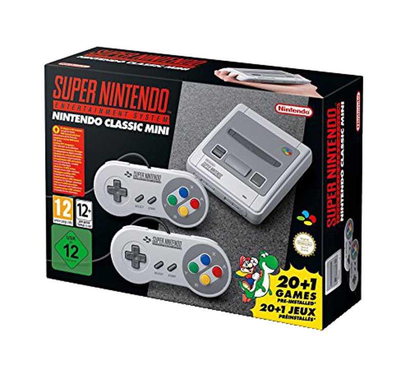 Console de Jeux NINTENDO Super Nes MINI (photo)