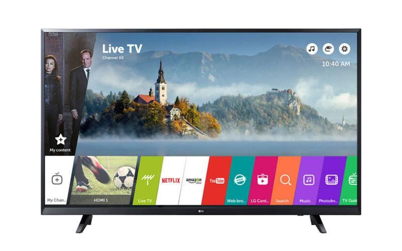 TV UHD 4K LG 43UJ620