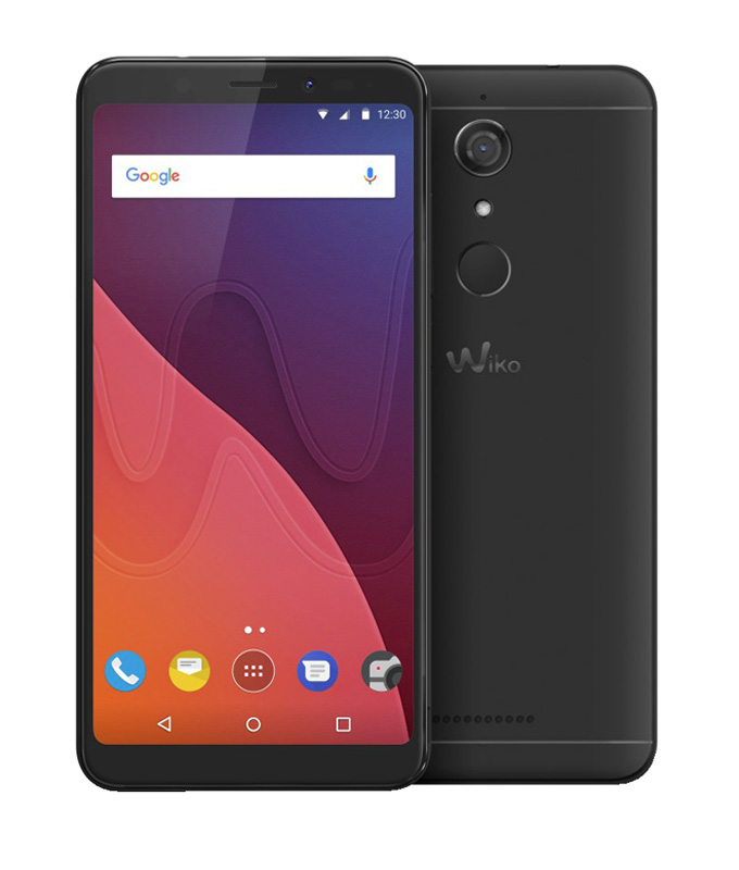 Smartphone WIKO View 4G HD+ noir + coque à 0,01 (photo)