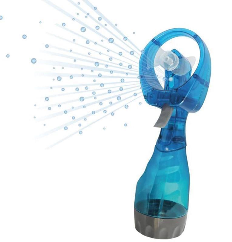 Mini ventilateur AIRKOOL Brumisateur 180ml Coloris aleatoire (photo)