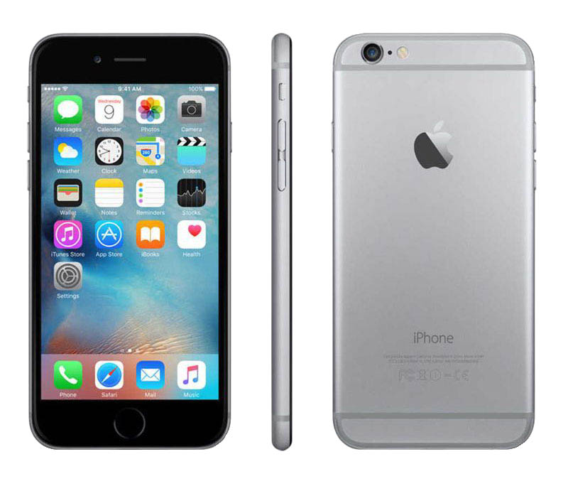 APPLE iPhone 6s 64 GO Grey reconditionne grade A+ (photo)