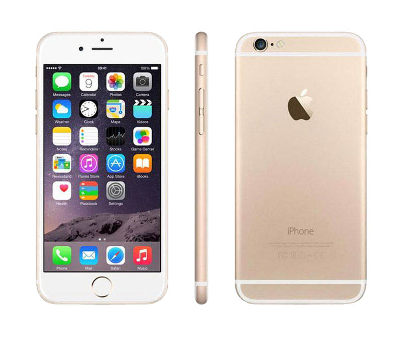 APPLE iPhone 6s 64 GO Gold reconditionne grade A+ (photo)