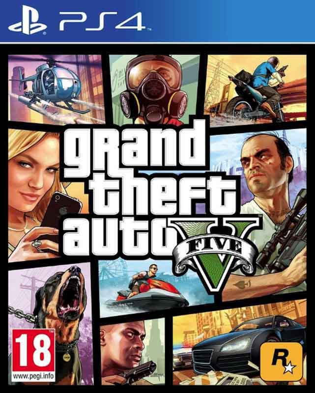 Jeu video PS4 GTA V (photo)