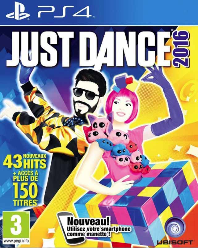 Jeu video PS4 JUST DANCE 2016