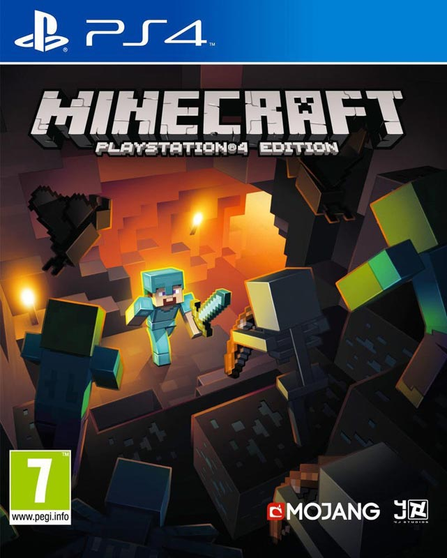 Jeu video PS4 MINECRAFT (photo)
