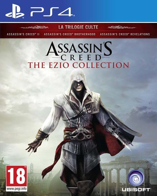 Jeu video PS4 ASSASSIN'S CREED: The Ezio Collection