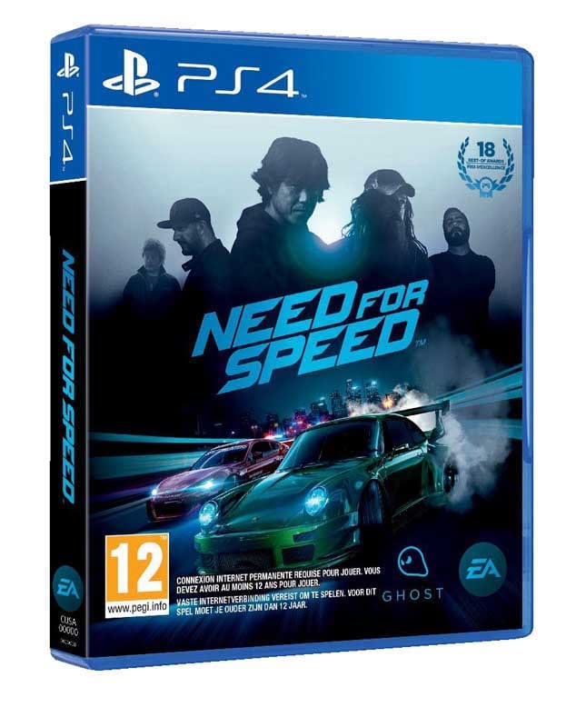 Jeu video PS4 NEED FOR SPEED 2016