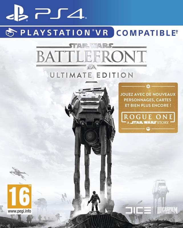 Jeu video PS4 STAR WARS BATTLEFRONT ULTIMATE EDITION