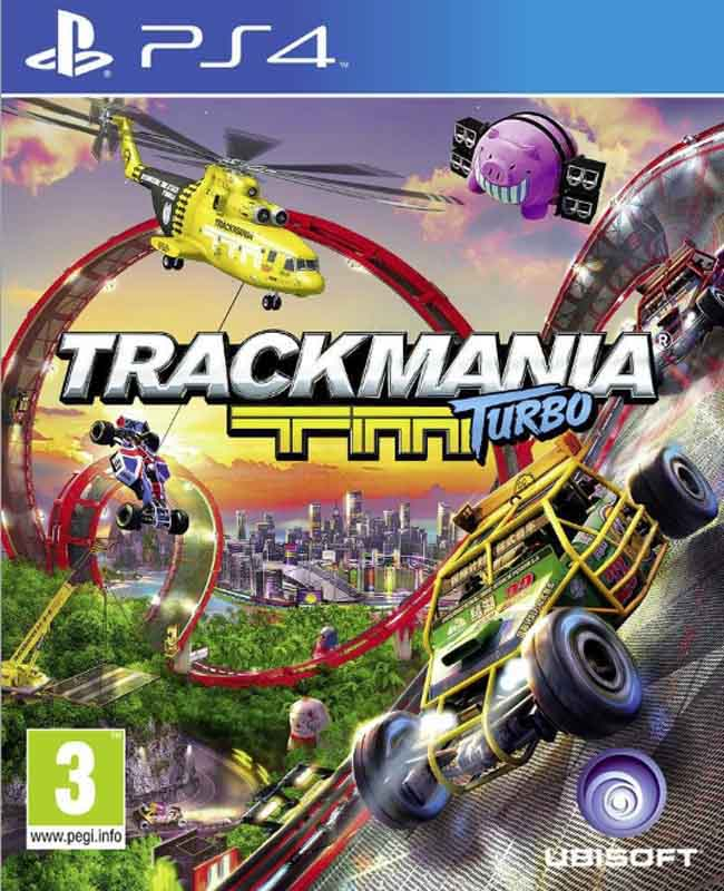 Jeu video PS4 TRACKMANIA