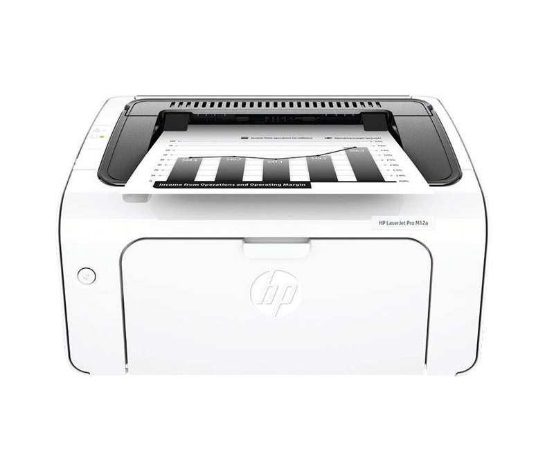 Imprimante Laser Monochrome HP LaserPro M12 Noir et blanc (photo)