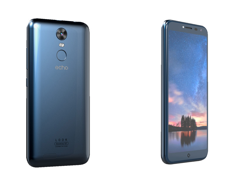 Smartphone ECHO Look 5,5 4G bleu (photo)