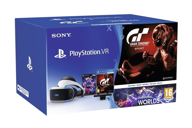 Pack VR pour PS4 ( casque Vr + camera V2+ Gran Turismo + Vr world)