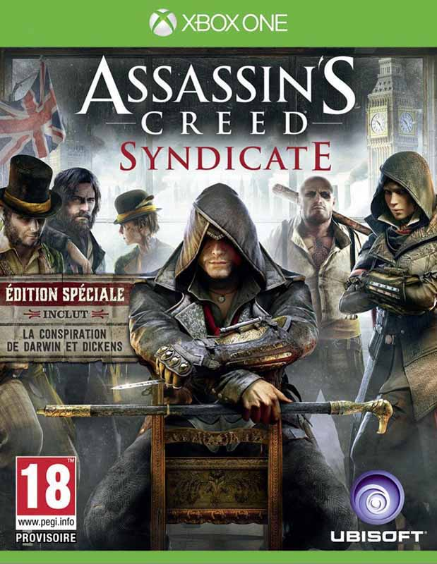 Jeu video XBOX ONE ASSASSIN'S CREED SYNDYCATE (photo)