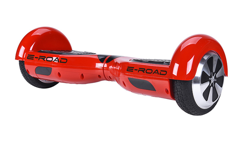 Hoverboard 6,5 E-ROAD Rouge bluetooth+s ac