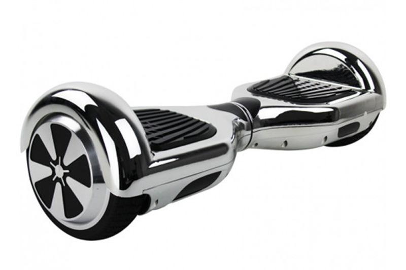 Hoverboard 6,5 E-ROAD Silver bluetooth + sacoche