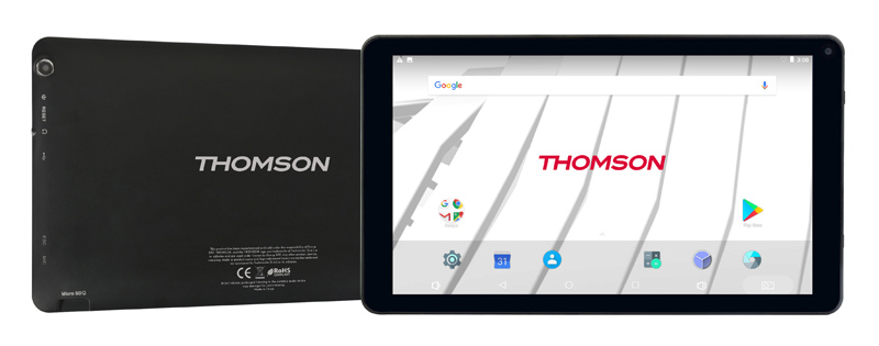 Tablette 10,1 THOMSON noire 32 go