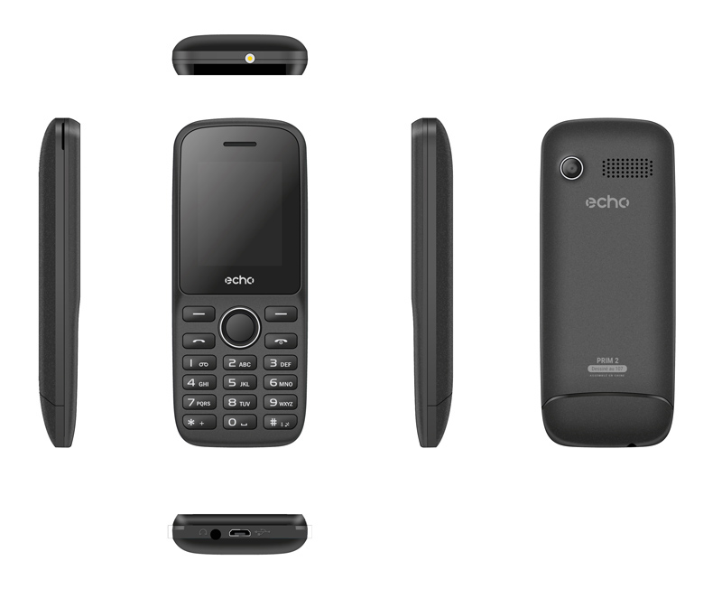 Mobile ECHO Prim2 1,77 dualsim noir (photo)