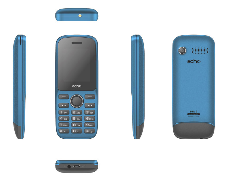 Mobile ECHO Prim2 1,77 dualsim bleu (photo)