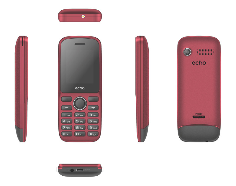Mobile ECHO Prim2 1,77 dualsim rouge (photo)