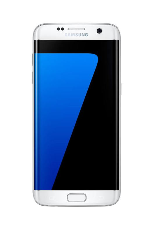 Smartphone SAMSUNG GALAXY S7 edge 32 Go blanc reconditionne grade A+