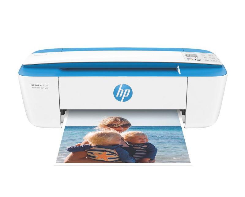 Imprimante multifonction HP Deskjet 3720 bleue
