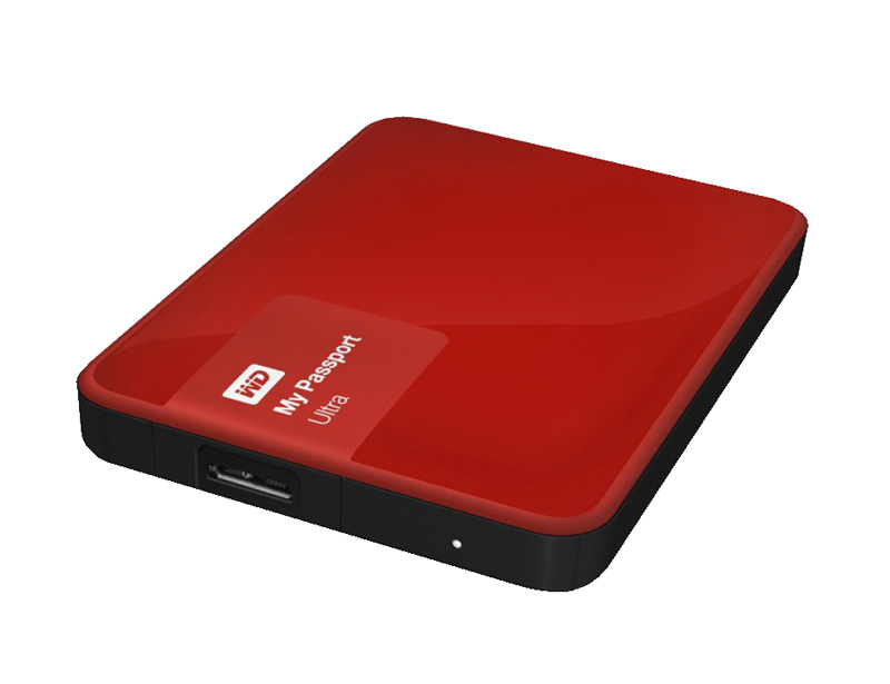 Disque dur externe reconditionne Western Digital 2 To Everdrive Rouge