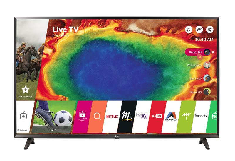 TV UHD 4K LG 65UJ630V 4K HDR
