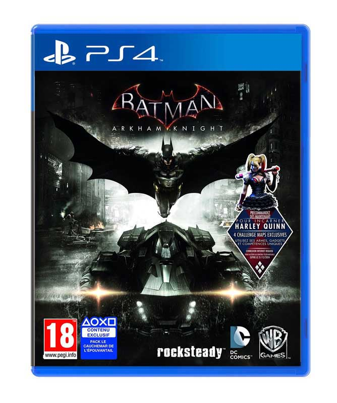 Jeu video PS4 BATMAN ARKHAM KNIGHT