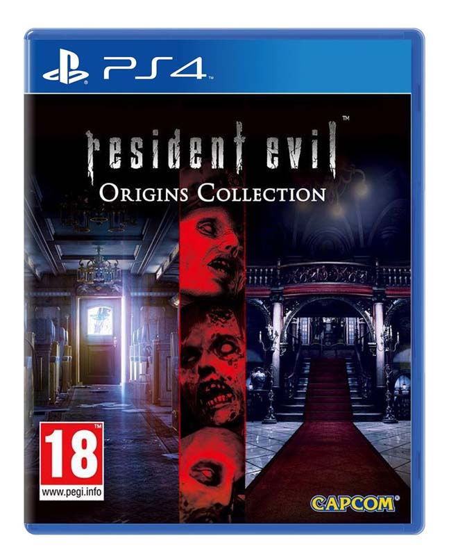 Jeu video PS4 RESIDENT EVIL ORIGINS