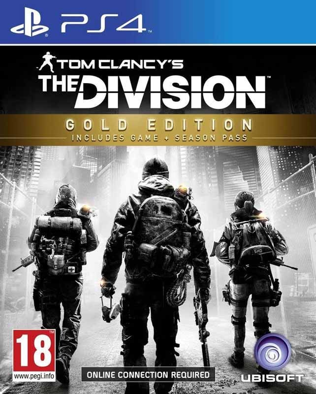 Jeu video PS4 THE DIVISION GOLD EDITION