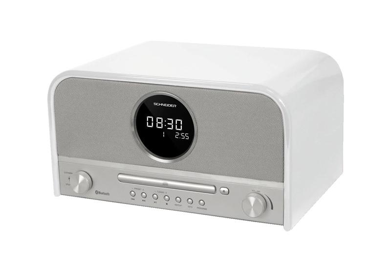 Micro-chaîne SCHNEIDER SC700MCCD Blanc