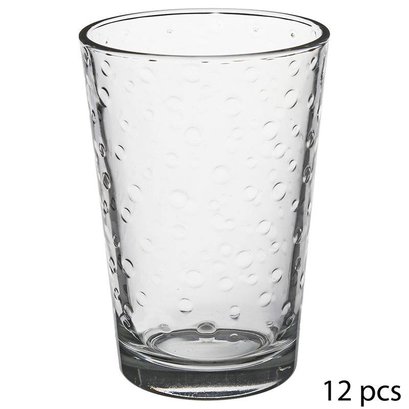 Pack de 12 verres à eau (photo)