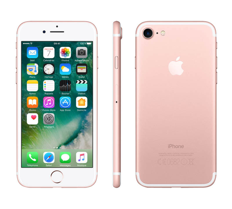 APPLE iPhone 7 32 Go Rose reconditionne grade A+