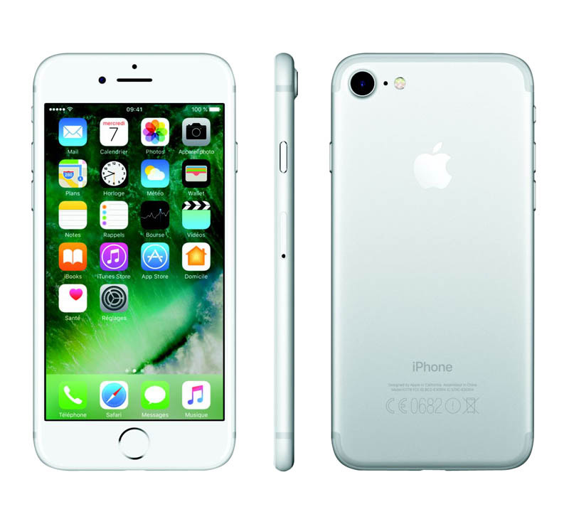 APPLE iPhone 7 32 Go Silver reconditionne grade A+