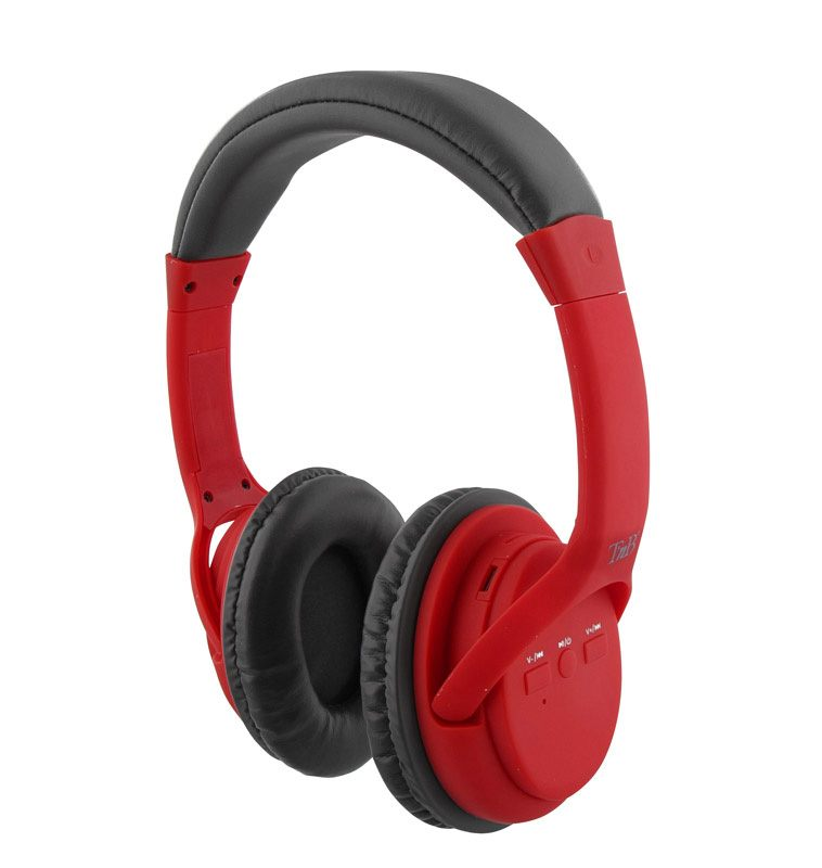 Casque Bluetooth TNB #HASHTAG rouge