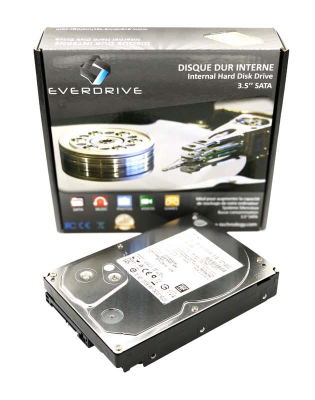 Disque Dur interne 3,5 everdrive 1 to sata2 7200