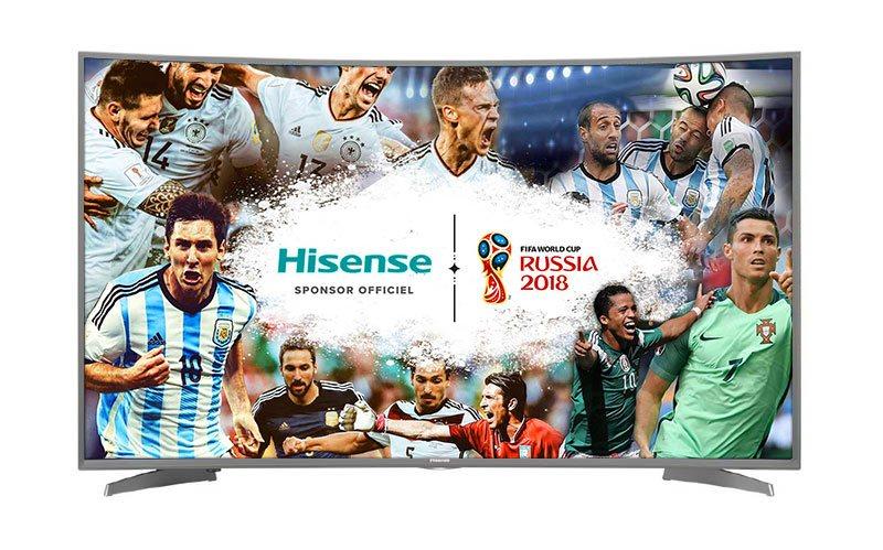 TV UHD 4K HISENSE 55NEC6500 UHD CURVED (photo)