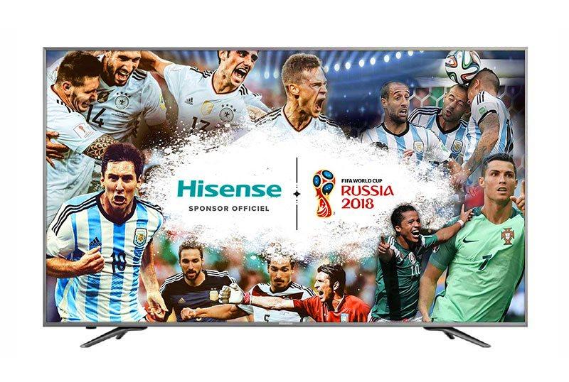 TV UHD 4K HISENSE 50NEC6700 (photo)