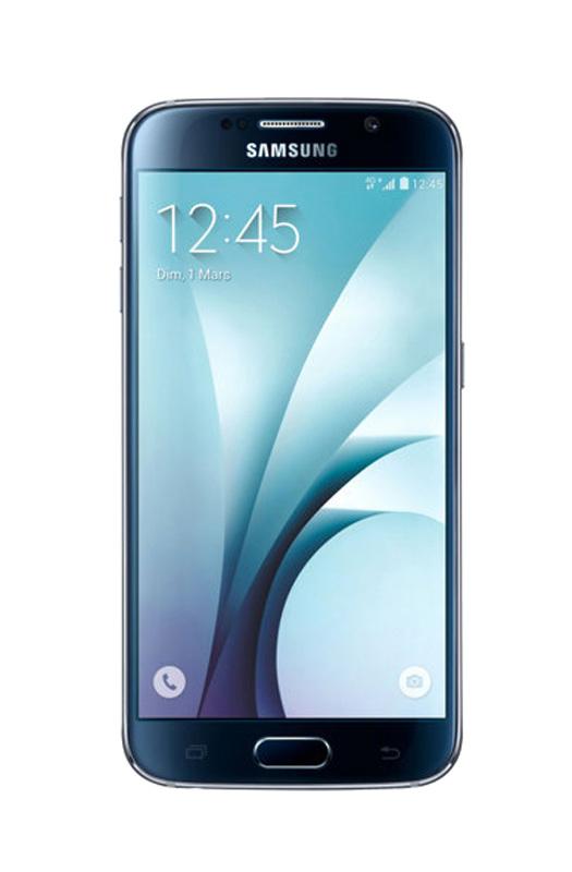 Smartphone SAMSUNG s6 32 Go noir reconditionne Grade A+