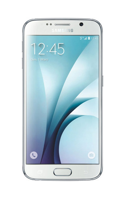 Mobile SAMSUNG GALAXY s6 32Go Blanc reconditionne A+