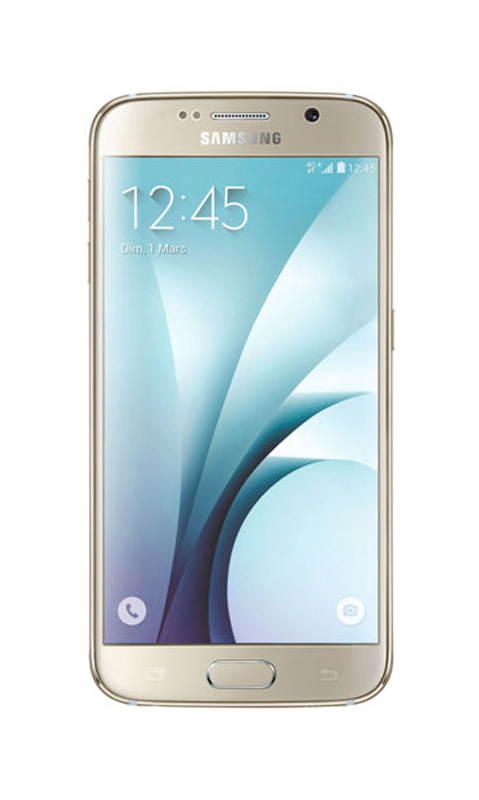 Mobile SAMSUNG GALAXY s6 32Go or reconditionne A+