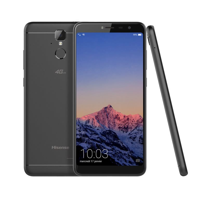Smartphone HISENSE F24 noir (photo)