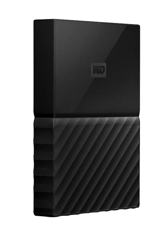 Disque dur externe 2.5 WD 3 To USB 3.0 MyPassport noir (photo)