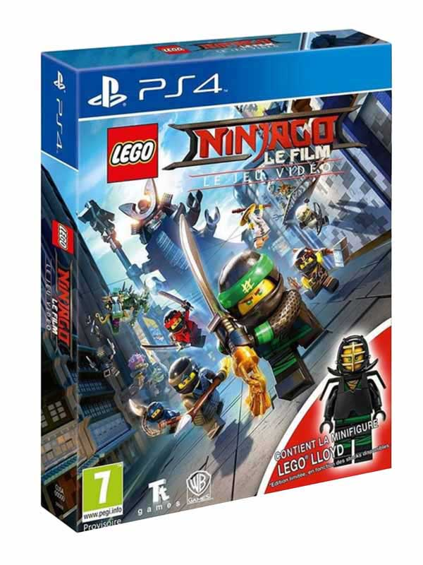 Jeu video PS4 LEGO NINJAGO Le film