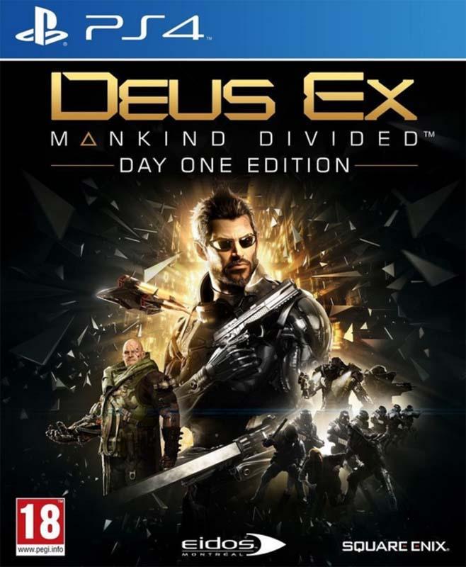 Jeu video PS4 DEUS EX MANKIND DIVIDED