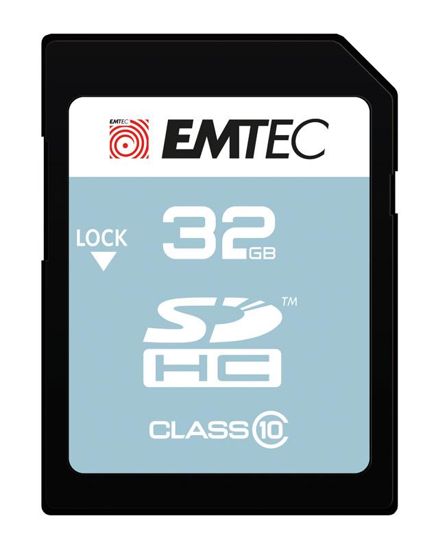 CARTE SD 32 Go EMTEC Class 10